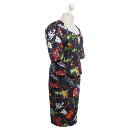 Hermès Costume in vintage style