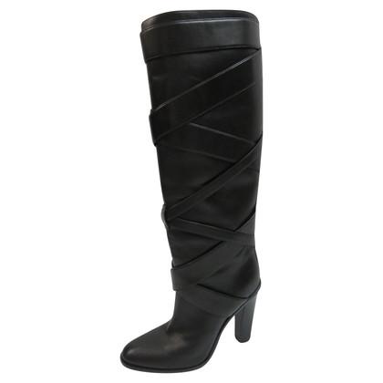 Saint Laurent Knie hoge laarzen
