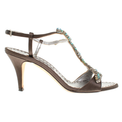 Alberta Ferretti Sandals with gemstones