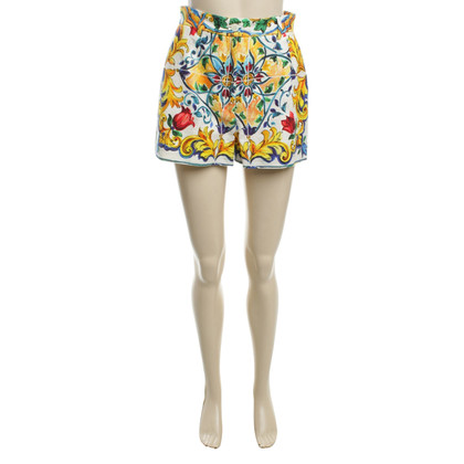 Dolce & Gabbana Shorts with flower pattern