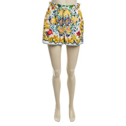 Dolce & Gabbana Shorts with flower pattern
