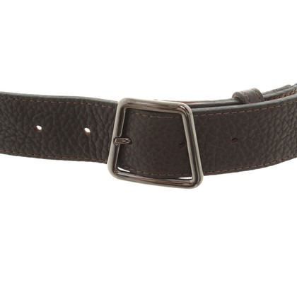Akris Belt in dark brown