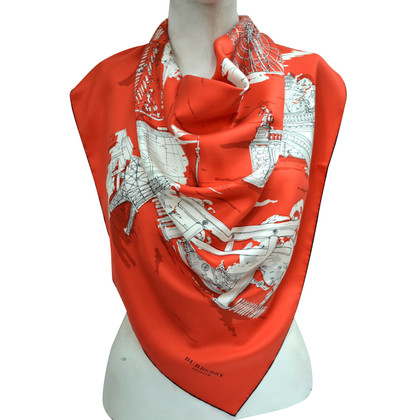 Burberry Prorsum Silk scarf with pattern