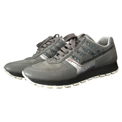 Chaussures Noires De Sport Pour Les Hommes Prada kMmZS