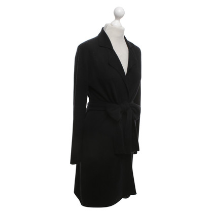 Allude Cashmere cardigan in black