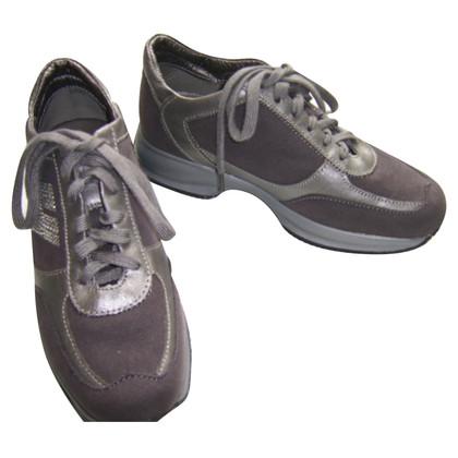 Hogan Sneakers in grigio scuro