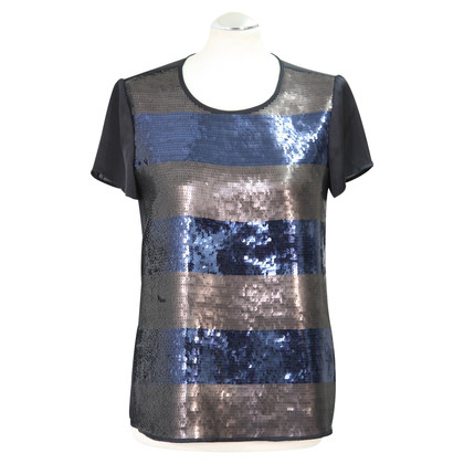 Michael Kors Sequin shell in dark blue