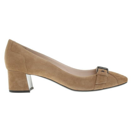 Bottega Veneta pumps suede leather