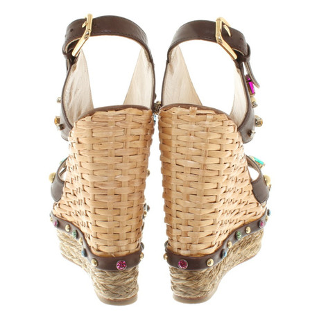 Dolce Dolce Gabbana Wedges amp; Braun in Wedges Braun Braun Gabbana amp; in Braun amp; Gabbana Dolce Aqw0x4