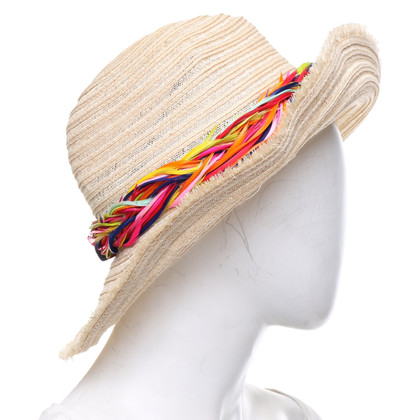 Eugenia Kim Hat with feather decor