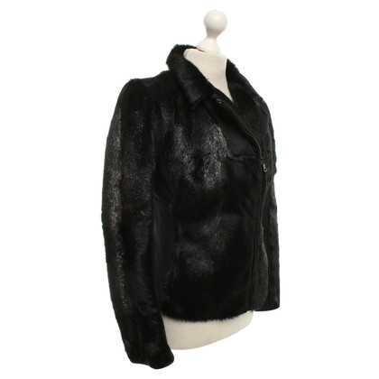 Prada Short jacket with goatskin