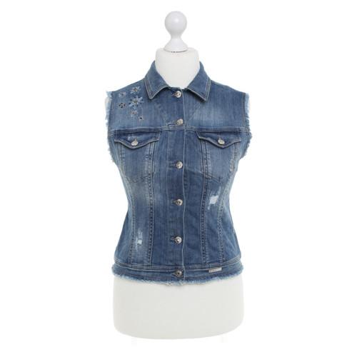 huge discount b0f20 5de86 Liu Jo Gilet di jeans con applicazione - Second hand Liu Jo ...