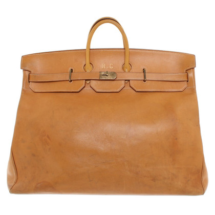 "Hermès ""Travel Birkin"" in Brown"