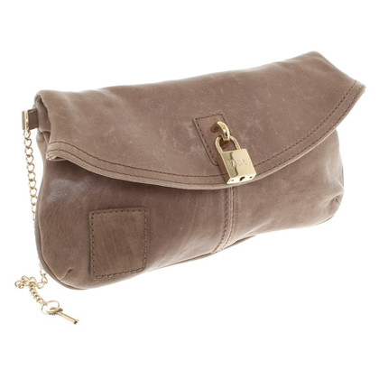 D&G clutch in Beige