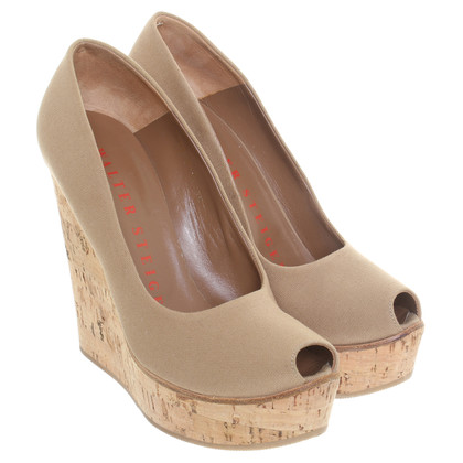 Walter Steiger Peeptoe wedges with Cork heels