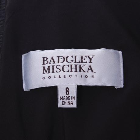 Schwarz Badgley Badgley Kleid Schwarz Mischka Kleid Mischka in in xaHaSq4Tw