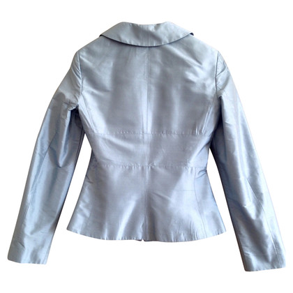 Tara Jarmon Light blue silk jacket