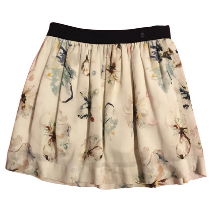 Christian Dior skirt with floral print