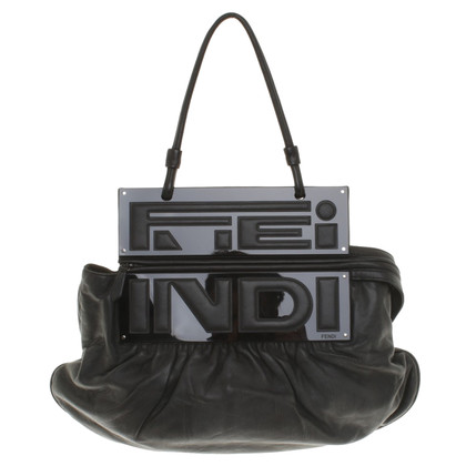 Fendi Handtas in zwart