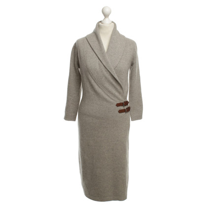 Ralph Lauren Strickkleid in Beige