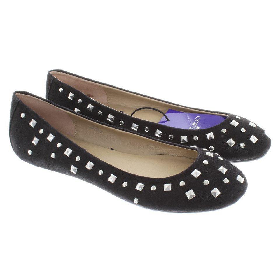 Jimmy Choo for H&M Ballerinas with rivets