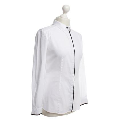 Hugo Boss Classic shirt in Wit / zwart