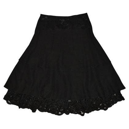 Roberto Cavalli Black skirt