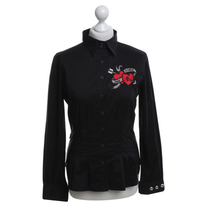 Moschino Blouse with appliqués