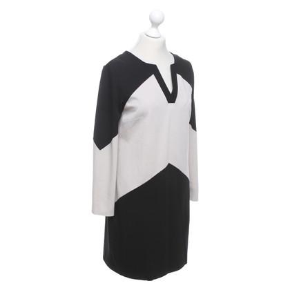Piu & Piu Dress in black / beige