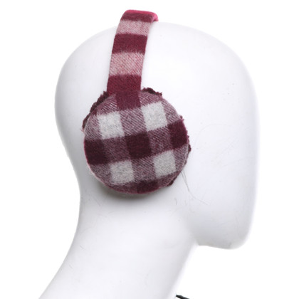 Burberry Ear warmer in burgundy