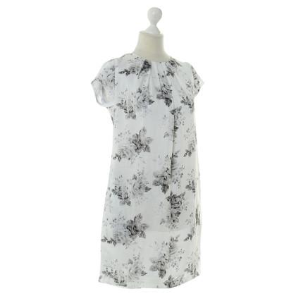 Set Kleid mit floralem Print