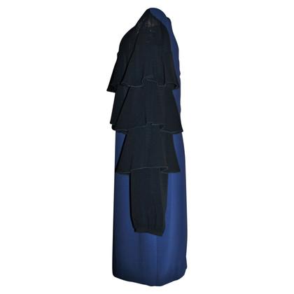 Ermanno Scervino Kleur blok midi jurk