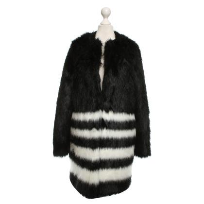 Michael Kors Fauxbont jacket Tweekleurige