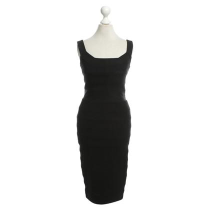 Diane von Furstenberg Schede jurk in zwart