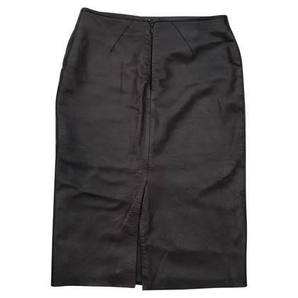 Mulberry Leather pencil skirt