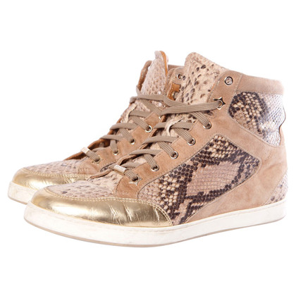 Jimmy Choo brown colored sneakers