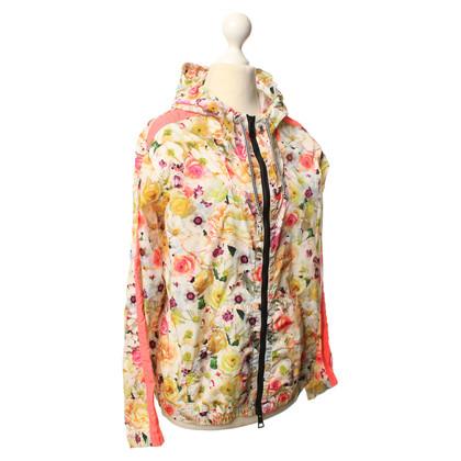 MSGM Jacke mit floralem Muster