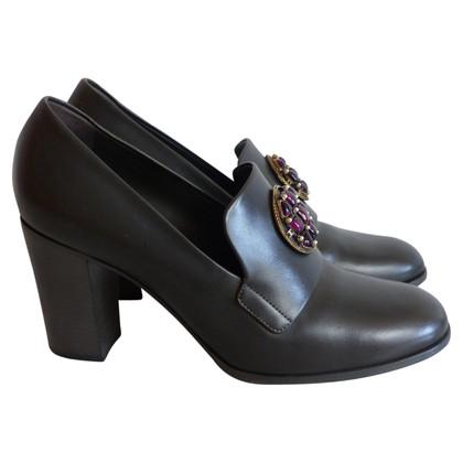 Chanel pumps in grigio scuro