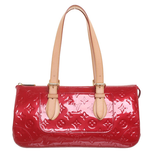 4b13b9cb4 Louis Vuitton Handbag Patent leather in Red - Second Hand Louis ...