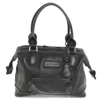 Longchamp lederen tas in zwart
