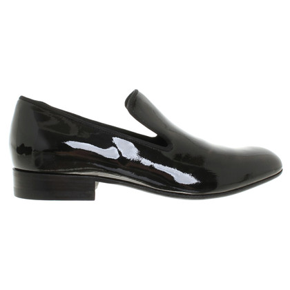 Céline Patent leather slippers