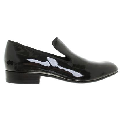 Céline pantofole in vernice
