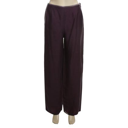 Armani Pantaloni a Violet