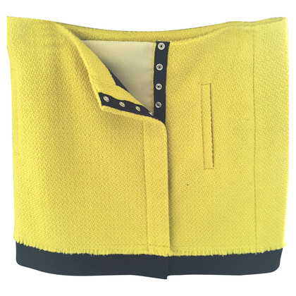 Diane von Furstenberg Yellow mini skirt