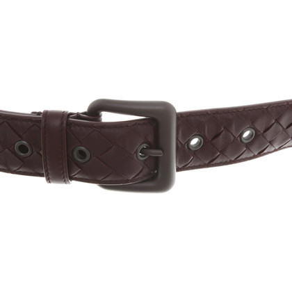 Bottega Veneta Belt in purple
