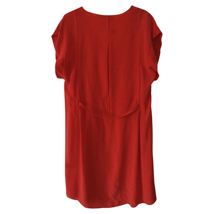 See by Chloé robe de soie rouge