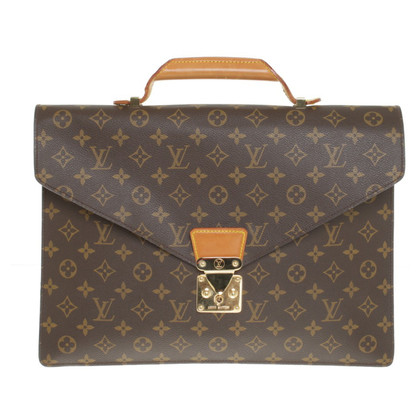 Louis Vuitton Briefcase made of Monogam Canvas