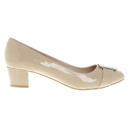 Kurt Geiger nude coloured pumps