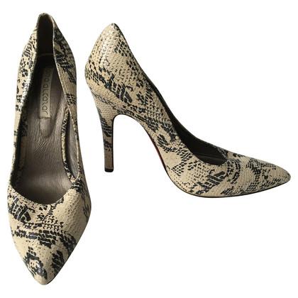 Other Designer Ana Alcazar - Pumps with snake print