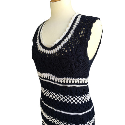 Other Designer Les Copains - crochet dress with petticoat